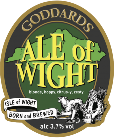 Ale of Wight Pump Clip