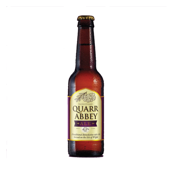 Goddards Brewery Isle of Wight Quarr Abbey Ale