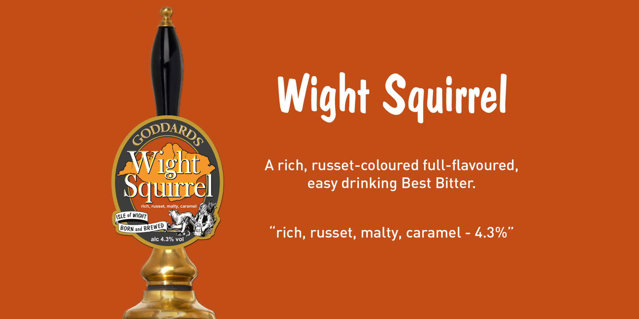 Goddards Brewery Wight Squirrel 1200 x 600