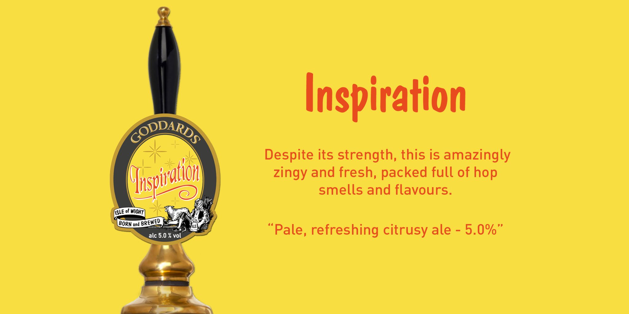 Goddards Brewery Wight Inspiration