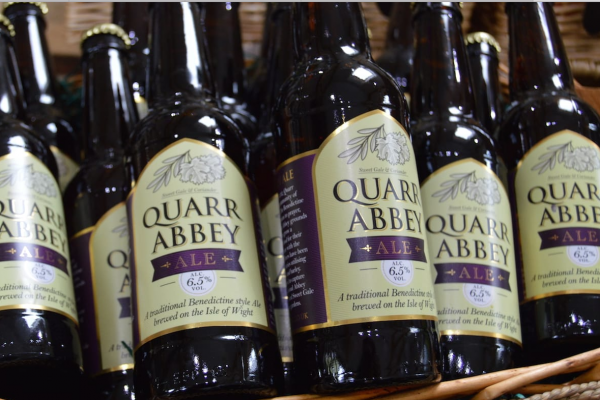 Quarr Abbey Ale goddards Isle of Wight