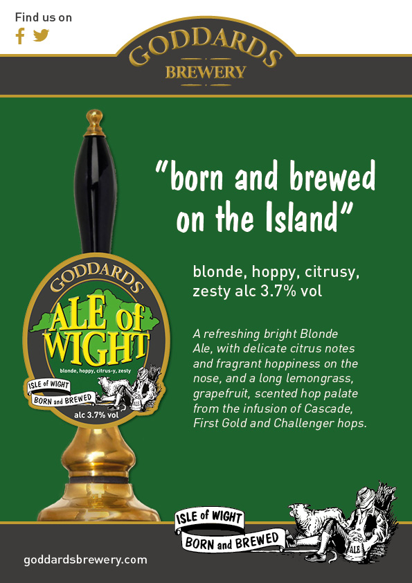 Ale of Wight Trade Poster