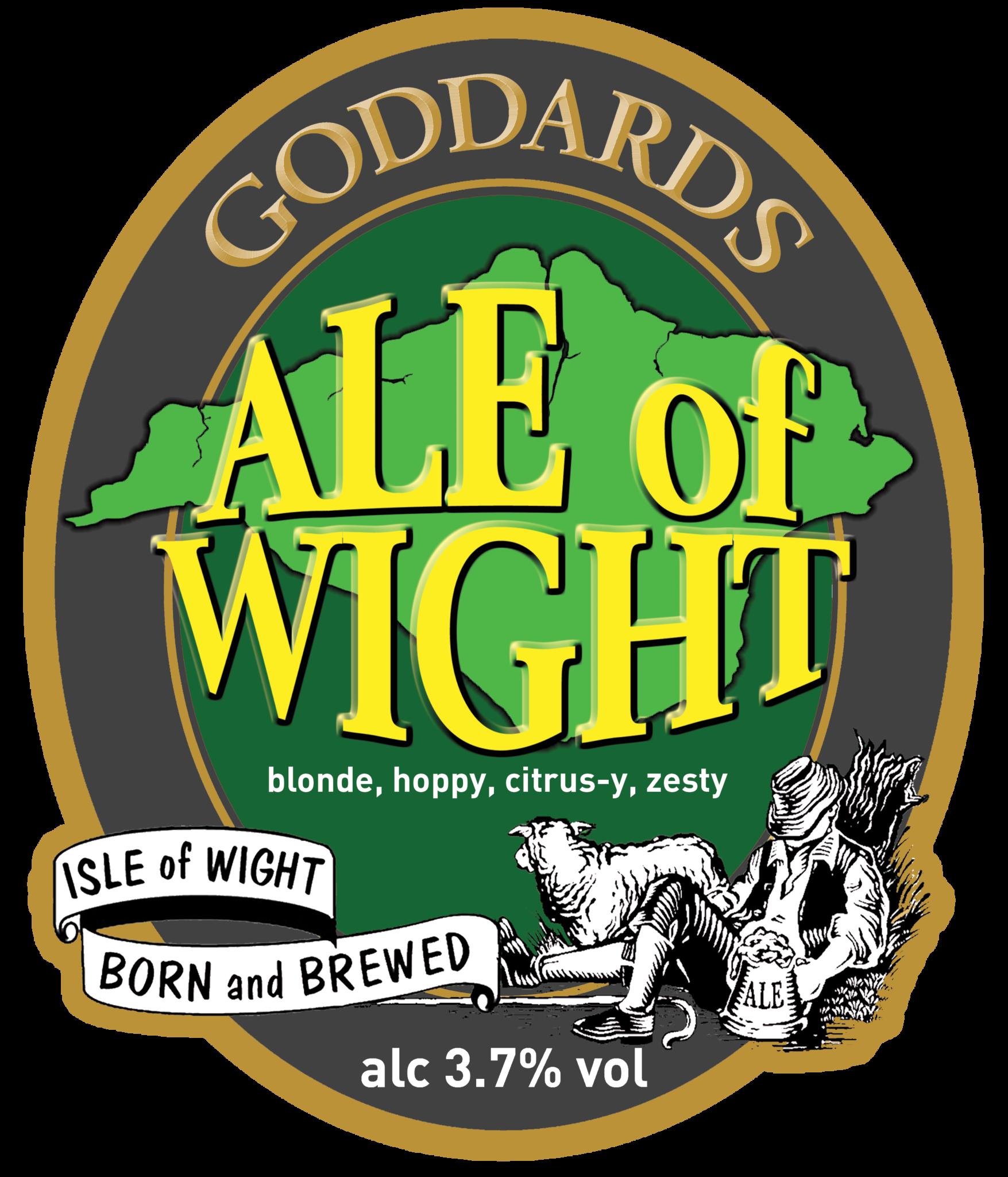 Ale of Wight Pump Clip