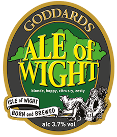 Ale of Wight - Pump Clip