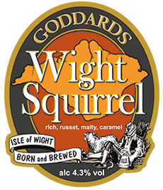 Wight Squirrel - Pump Clip